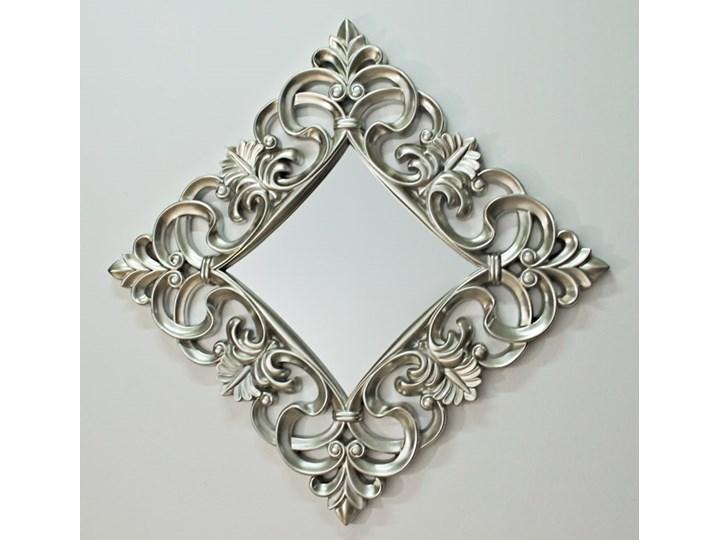 Lustro Barocco 21 ( 100 x 100 ) Silver