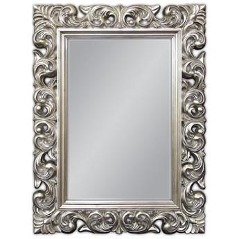 Lustro srebrne Barocco 49 Glamur  (91 x 121 )