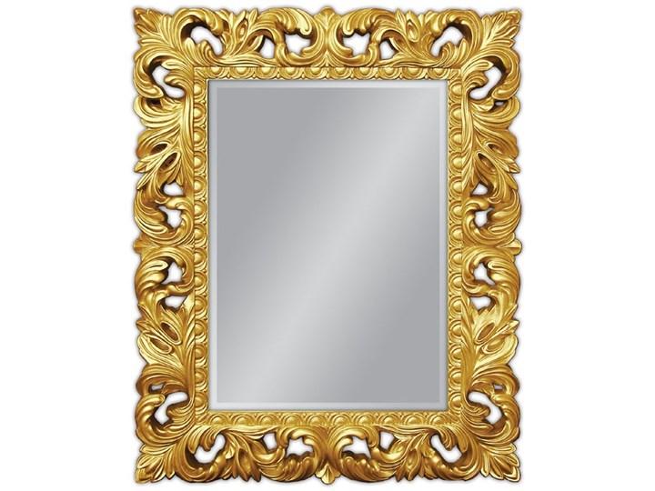 Lustro złote Glamur Barocco 58 Lustro z ramą Ścienne Pomieszczenie Salon Prostokątne Pomieszczenie Przedpokój