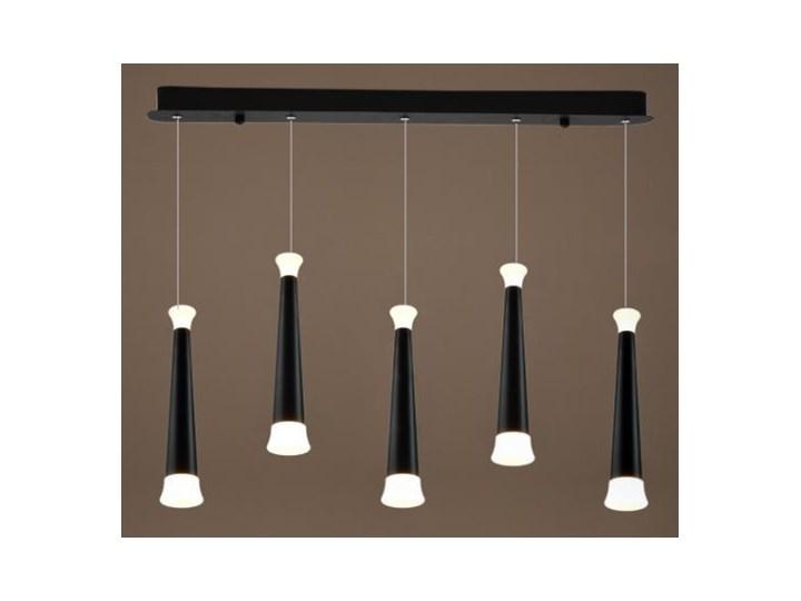 MCODO ::  Nowoczesna lampa LED Skytower 5 o mocy 35W  barwa ciepła Nowość Tworzywo sztuczne Metal