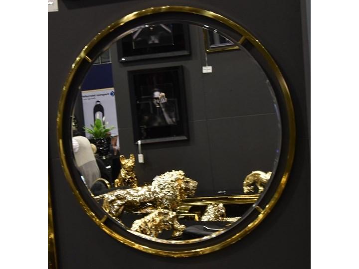 Lustro CLEO GLAMUR GOLD RING Lustro z ramą Pomieszczenie Przedpokój Ścienne Okrągłe Pomieszczenie Salon