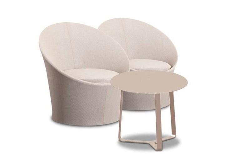 Miloo :: Zestaw mebli ogrodowych Lisbon Round Zawartość zestawu Stół Aluminium tkanina Zawartość zestawu Fotele