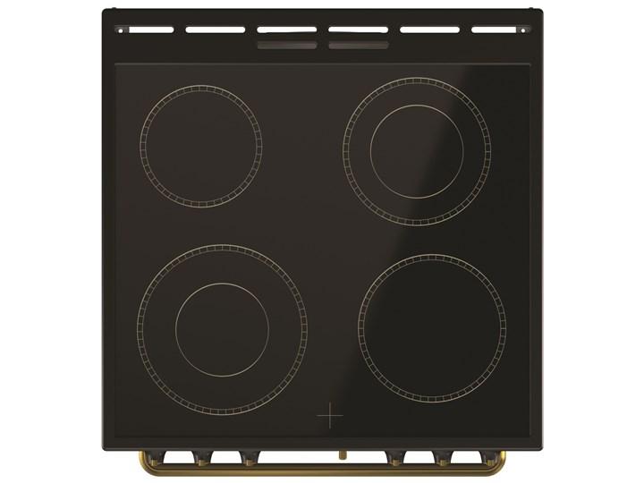Kuchnia GORENJE EC62CLB Szerokość 60 cm Rodzaj płyty grzewczej Ceramiczna Kategoria Kuchenki elektryczne