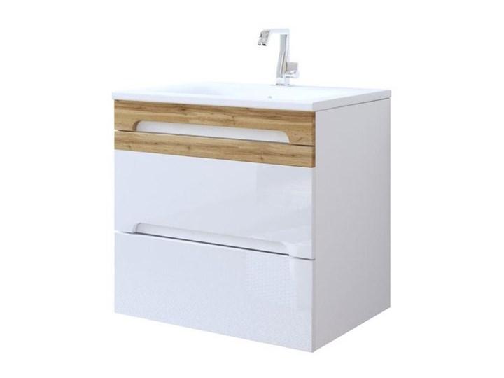 Szafka łazienkowa Z Umywalką Mona 60 Cm Biała