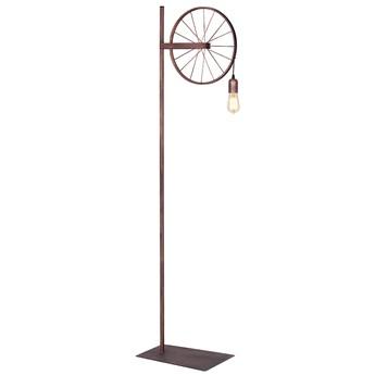 MIN lampa podłogowa 1 x 60W E27 stojąca miedziana rower metalowa ALDEX 834A