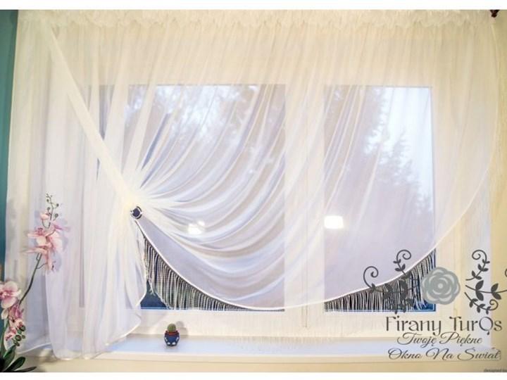 Firana Diana Do Salonu Z Woalu 400x145cm