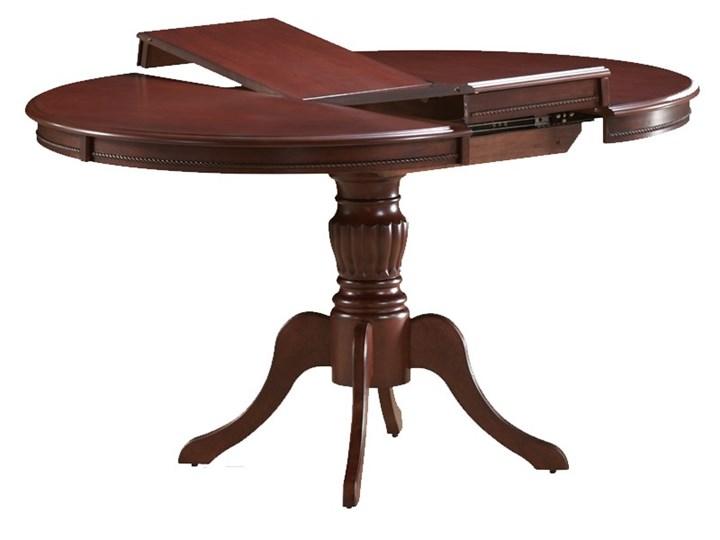 Stół Olivia Ciemny Orzech Długość 106 cm tkanina Wysokość 76 cm Rozkładanie