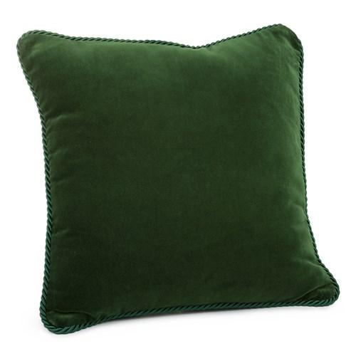 Aksamitna poduszka Bottle Green