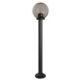 KULA DYMNA lampa stojąca 1 x 60W E27  słupek ogrodowy zewnętrzny klasyczny dymiona kula ball SUMA K 5002/2/K 250 dymna