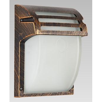 AMALFI kinkiet 1 x 60W E27 lampa ścienna zewnętrzna złota patyna nowoczesna PREZENT 39022