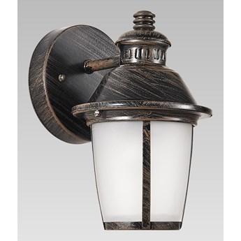 TEXAS kinkiet 1 x 60W E27 lampa ścienna zewnętrzna czarna PREZENT 39020