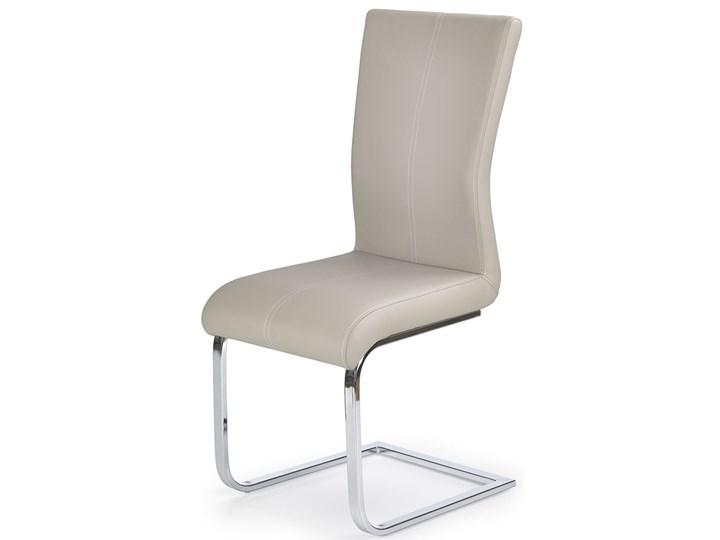 krzesło tapicerowane aspen - cappuccino