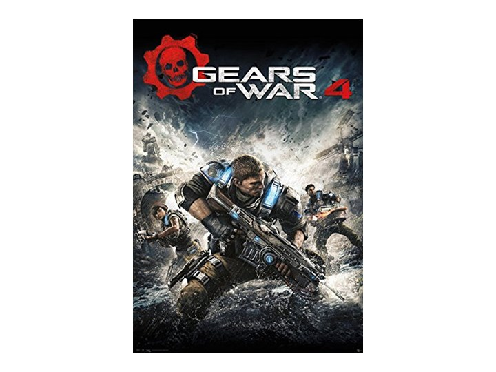 Empireposter 741097 Gears Of War 4 Game Cover Game Gry Plakat Papier Kolorowy 915 X 61 X 014 Cm