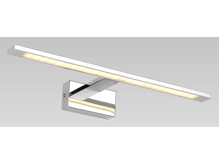 DAKAR kinkiet 1 x 10W LED 3500K 700LM oprawa ścienna nad obraz galeria nowoczesna srebrna PREZENT 62300