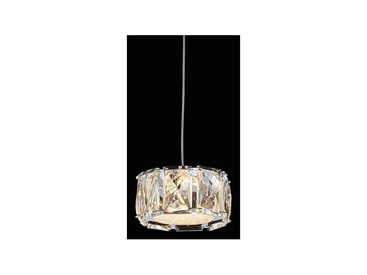 KNOX lampa wisząca 1 x 5W LED 3000K 400LM  zwis krayształowy nowoczesny pojedynczy PREZENT 62416 Styl Klasyczny Żyrandol Lampa z kloszem Lampa LED Lampa z kryształkami Kryształ Metal Kategoria Lampy wiszące