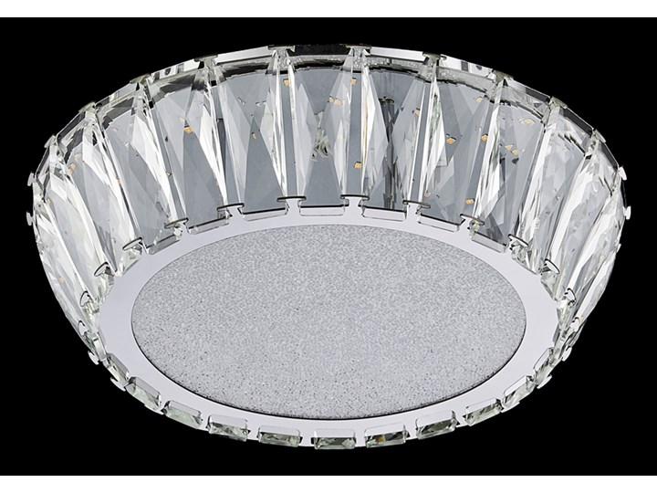 VENUS plafon 1 x 20W LED 3000K 1600LM lampa sufitowa plaska kryształowa nowoczesna PREZENT 62421