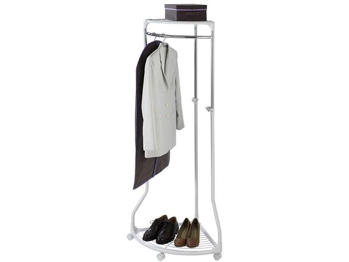 Narożny wieszak na ubrania - szafa na kółkach, WENKO