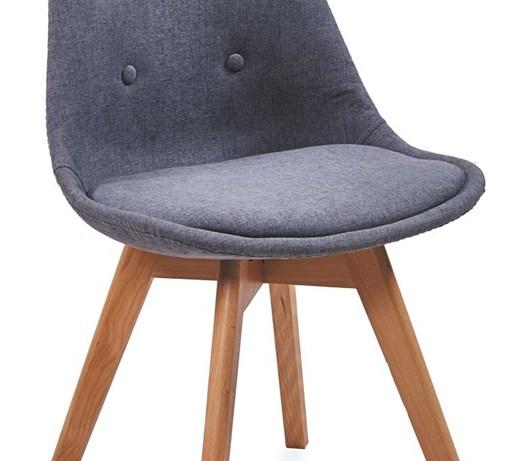 51b25c8d6f99 Krzesło FIORD 3 ciemno szare Bettso - Krzesła kuchenne - zdjęcia ...