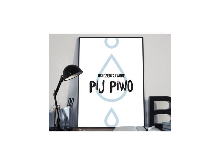 Hasło Motywacyjne Oszczędzaj Wodę Pij Piwo Plakaty