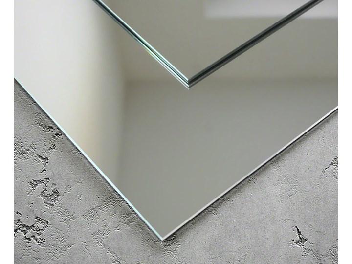 Nowoczesne lustro na ścianę Modern SQ Ścienne Kwadratowe Kolor Srebrny