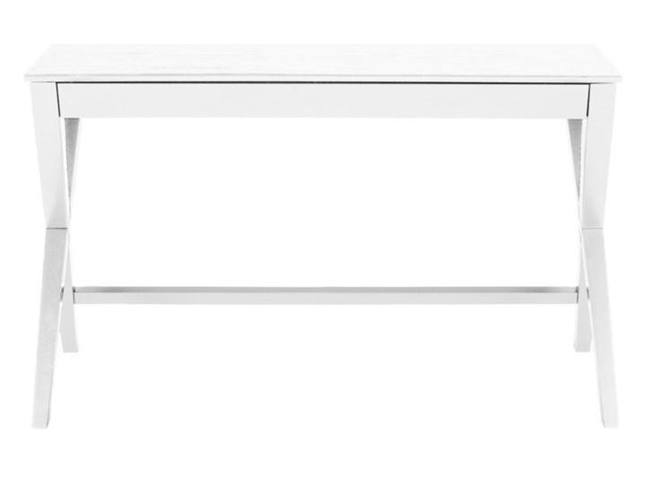 Biurko/konsola Denko białe Biurko tradycyjne