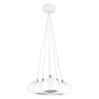 BALL 6 lampa wiszaca biały mat kulki