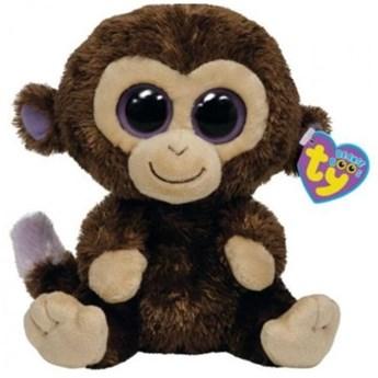 Maskotka TY INC Beanie Boos Coconut - Małpka średnia