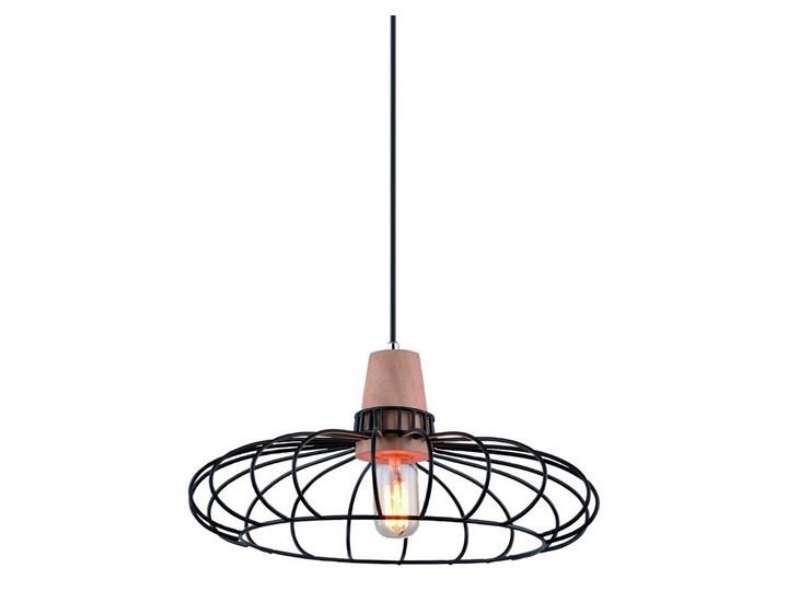 LEDKO 00255 - Żyrandol 1xE27/60W/230V Drewno Metal Ilość źródeł światła 1 źródło