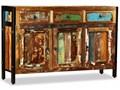 vidaXL Komoda z drewna odzyskanego, 120 x 35 76 cm Drewno