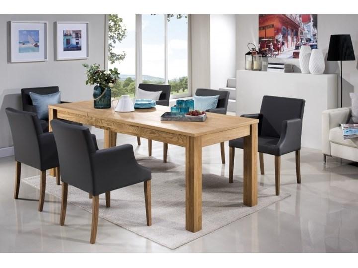 Stół Z 6 Krzesłami Rozkładany Drewniany Zestaw Stoły Z