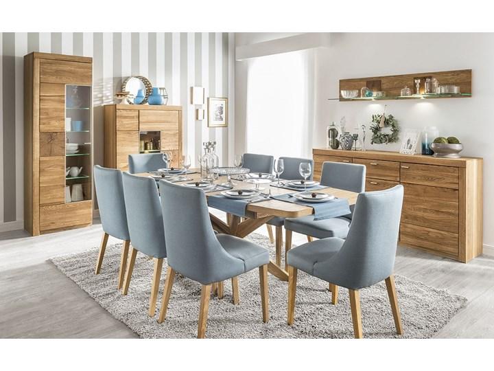 Stół Z 8 Krzesłami Rozkładany Drewniany Zestaw Stoły Z