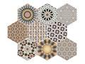 Andalusi 33x28,5 Heksagon  Przeznaczenie v2 Płytki podłogowe Gres Rozmiar2 33x28,5 cm