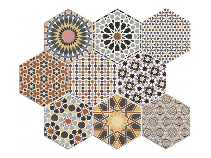 Andalusi 33x28,5 gres hexagon Płytki ścienne 28,5x33 cm Heksagon Powierzchnia Matowa