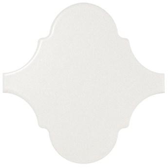 Scale Alhambra White Matt 12x12