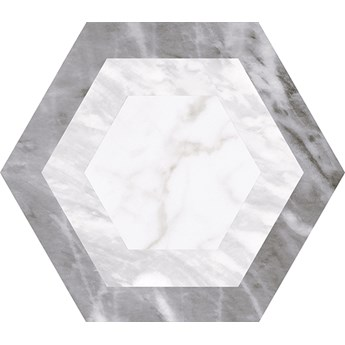 Bardiglio Hexatile Geo 17,5x20