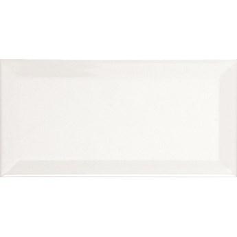Biselado Blanco MAT 10x20 białe cegiełki