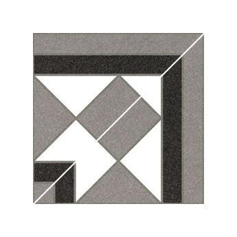 Cantonera Basildon Blanco 15,8x15,8