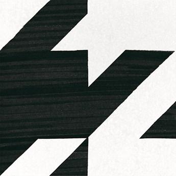 Caprice Deco Tweed B&W 20x20 płytka patchworkowa