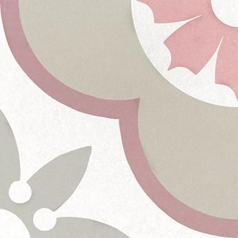 Caprice Deco Flower Pastel 20x20 płytka patchworkowa