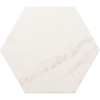 Carrara Hexagon Mat 17,5x20 haksagon marmur
