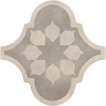 Curvytile Factory Blume Grey 26,5x26,5