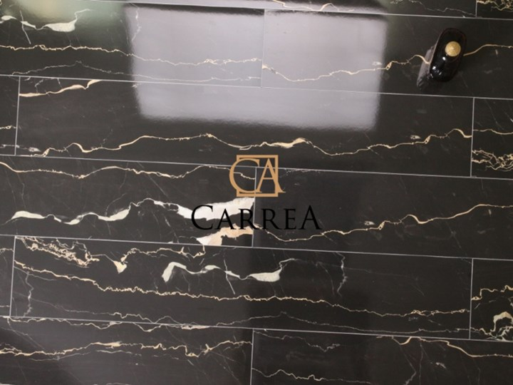 Portoro Negro 20x114 czarny marmur