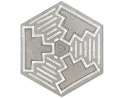 Hexágono Igneus Cemento 23x26,6