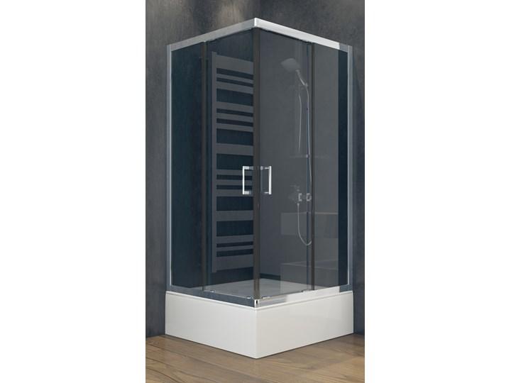 Kabina prysznicowa kwadratowa Modern 80x80x165 Szerokość 80 cm
