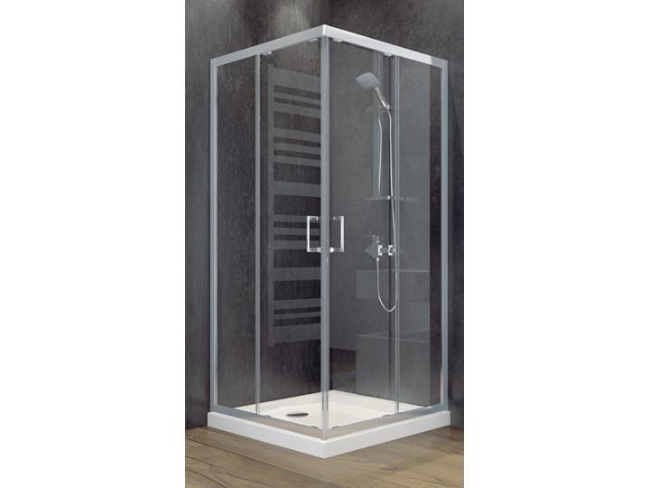 Kabina prysznicowa kwadratowa Modern 80x80x185 Szerokość 80 cm