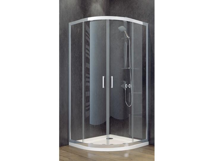 Kabina prysznicowa półokrągła Modern 90x90x185 Szerokość 90 cm