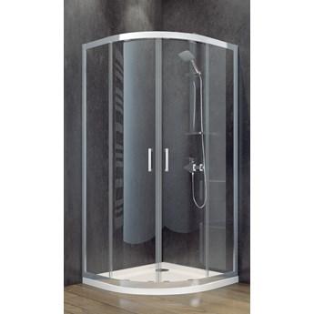 Kabina prysznicowa półokrągła Modern 80x80x185