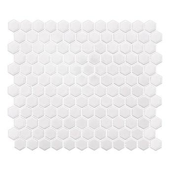 Mini Hexagon White 30x26