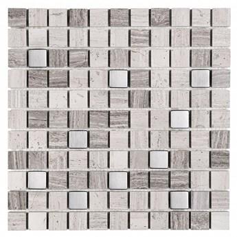 WOODSTONE GREY MIX 25 30,5x30,5