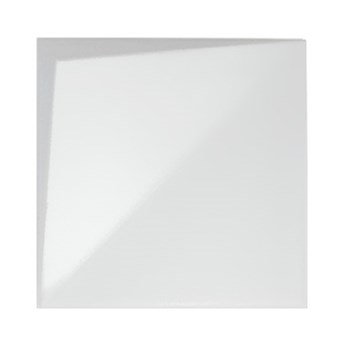 Noudel L White Gloss 25x25